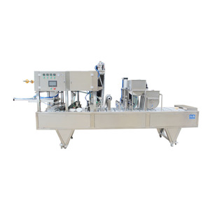 Cup box filling and sealing machine-8 cup machine