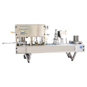 Eight treasure porridge filling and sealing machine